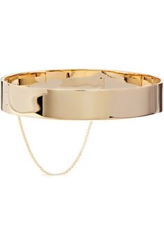 Eddie Borgo - Safety Chain Gold-plated Choker - one size
