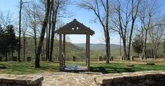 The venue: Monte Sano State Park Lodge! Great views for an outdoor ceremony and renting the whole lodge for the reception.