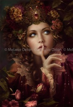 You'll Love these Melanie Delon Jigsaw Puzzles! If you like fantasy and gothic images these Heye puzzles from the artwork of Melanie Delon are amazing. Foto Fantasy, Fantasy Magic, Fantasy Kunst, Fantasy World, Fantasy Art, Melanie Delon, Poses References, Illustrations, Belle Photo
