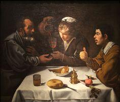 Déjeuner de paysans Velázquez - Diego Vélasquez — Wikipédia