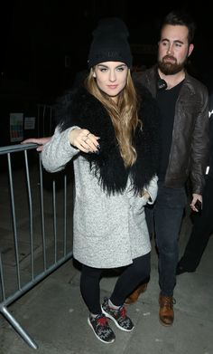 JOANNA JOJO LEVESQUE Arrives at Her Concert in London 01/17/2017