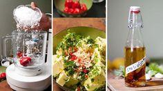 Snadder til grillmat: Hjemmelaget chiliolje, urtesmør og urtesalt