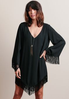 Rodeo Fringe Dress By Show Me Your Mumu at threadsence.com