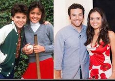Kevin & Winnie Cooper from Wonder Years, then & now
