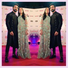 Shahid Kapoor, Mira Rajput Kapoor, 62nd Jio Filmfare Awards 2017, MyFashgram