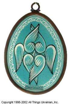 Stained glass Easter Egg Pysanky # UA02-2059 from Ukraine. http://www.allthingsukrainian.com