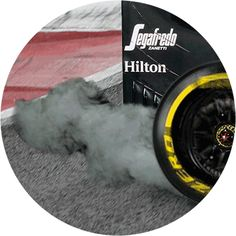 The burnouts done by drivers on their way to the grid have the practical purpose of spinning the rear wheels quickly to get heat into the rear tyres while also bringing the clutch up to temperature.