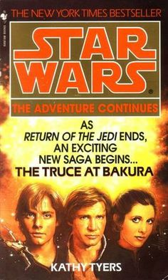 The Truce at Bakura. The first book set immediately after the end of ROTJ. #EUforever #realcanon