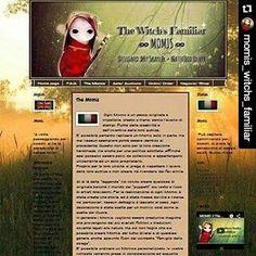 New Web Site! www.momisfamiliar.blogspot.it     Facebook page ʡ The Witch's Familiar ☾ ∞ MOMIS ∞ Designed »By Skayler • Nattfödd Ulver  -