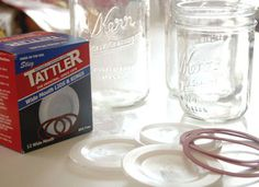 The Parsimonious Princess: Product Review: Tattler Resuable Canning Lids.  Something to consider...