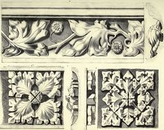 The Textile Blog: Augustus Charles Pugin and Gothic Ornaments