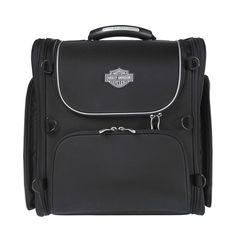 The Premium Touring Bag is ideal for a long weekend trip, but expands an additional 4 Harley Davidson Touring, Harley Davidson Bikes, Hd Motorcycles, Biker Gear, Motorcycle Outfit, My Ride, Long Weekend, Men's Clothing, Motorbikes