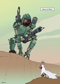 Grace and humility. Comic, Humility, Master Chief, Fictional Characters, Art, Storytelling, The Last Song, Pictures, Art Background