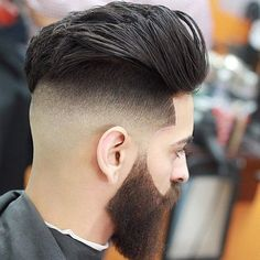 Shape Up Haircuts for Men: 40 Ideas for Instant Shape Up - Men Hairstyles World Baby Boy Hairstyles, Cool Hairstyles For Men, Cool Haircuts, Haircuts For Men, Up Hairstyles, Hair And Beard Styles, Short Hair Styles, Fade Haircut Designs, Pompadour Hairstyle