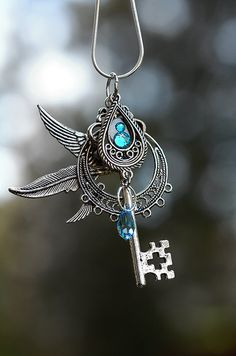 Wind Chaser Key Necklace by KeypersCove on Etsy, $35.00