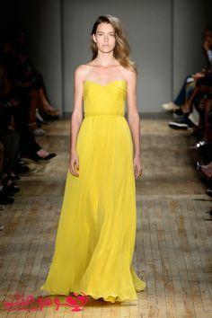 أزياء الربيع والصيف 2015 للمصممة Jenny Packham