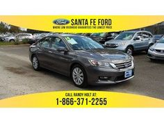2014 Gray Honda Accord EX 36801P
