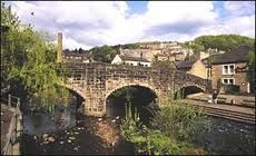 Hebden Bridge, West Yorkshire. We were there in 1985.
