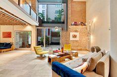 Modern loft in the heart of Tribeca, New York City.