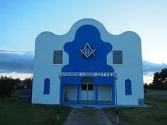 Masonic Lodge - Lafourche Lodge 427 F by anthonyturducken, via Flickr