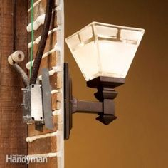 Fix old-house wiring problems. Bring old light fixtures wired with knob-and-tube wiring up to code by installing an electrical box in the plaster wall. Here& how to do it without breaking the plaster and lath.
