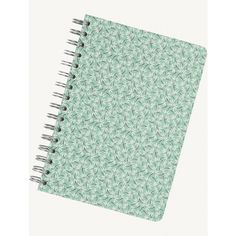 Fat Face A5 Spiral Ditsy Flower Notebook ($11) ❤ liked on Polyvore featuring home, home decor, stationery and turquoise