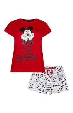 Primark - Pyjama Disney rouge Mickey