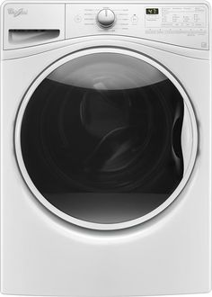 Whirlpool - 4.5 Cu. Ft. 11-Cycle Front-Loading Washer - White
