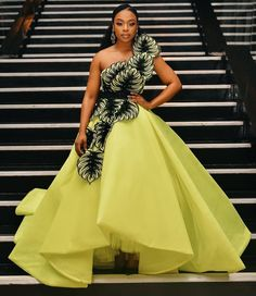 Hello Fashionista these are the best trending styles of Ankara long gown styles in are absolutely Amazing and beautiful and carefully selected for you African Bridal Dress, African Wedding Attire, African Print Dresses, African Dresses For Women, African Attire, Bridal Dresses, Best African Dress Designs, African Prints, African Wear