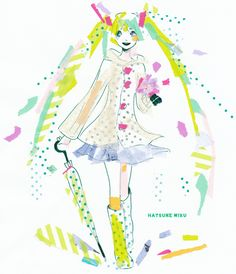 【ボカロ画像置き場】その27【りょーの】の画像 | みっくみくにしてやんで♪ <ぷらす> Masking Tape, Washi Tape, Tape Art, Art Inspiration Drawing, Cute Pattern, Hatsune Miku, Monochrome, Diy And Crafts, Whimsical