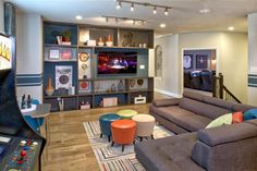 Kick back and relax with some friends in this game room! (Toll Brothers at The Woodlands - Creekside Park - Coronet Ridge, TX)