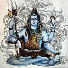 Shiva Hindu, Shiva Art, Shiva Shakti, Hindu Deities, Hindu Art, Krishna Radha, Lord Shiva Hd Wallpaper, Ganesh Wallpaper, Shiva Tattoo