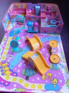 Collectible Little Twin Stars Anime Items Dollhouse Toys, Miniature Dollhouse, Doll Toys, Dolls, Dollhouse Tutorials, Japanese Toys, Little Twin Stars, Classic Toys, Clay Ideas