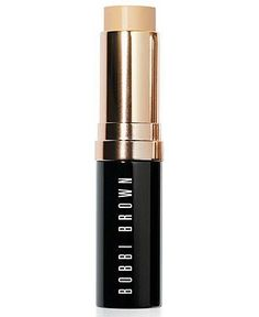 Apply to cheeks, nose or chin— wherever!— for flawless skin, Bobbi Brown Foundation Stick