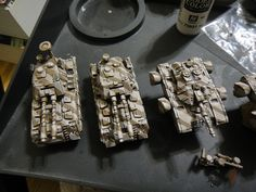 Heavy Gear Blitz - NuCoal Voltigeur and Fusilier Tanks by Steel Paladin, via Flickr