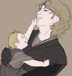 Anakin and Luke by aelur.deviantart.com on @deviantART
