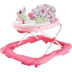 Disney Music & Lights Walker, Minnie Coral Flowers - Walmart.com