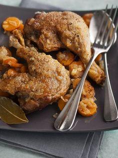 Recette Cuisse de canard confite au cidre