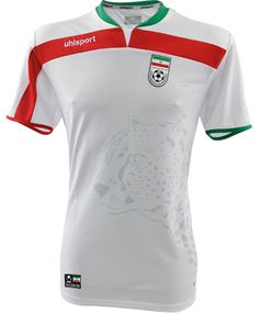 Iran Home Kit for World Cup 2014 #worldcup #brazil2014 #iran #soccer #football #IRA