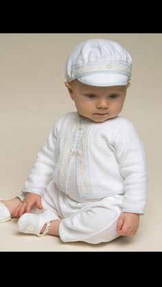 Harrison Christening Suit Boys Baptism Outfit by BabyBeauandBelle Baby Boy Christening Outfit, Baby Baptism, Baptism Gown, Christening Gowns, Baby Sewing, Baby Boy Outfits, Look, Kids Fashion, Cotton Hat