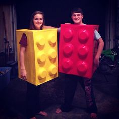 Pin for Later: 58 Epic Costumes For Geeky Groups Lego