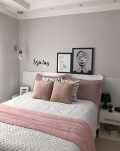 Bedroom Ideas For Small Rooms Diy, Room Ideas Bedroom, Small Room Bedroom, Bedroom Decor For Teen Girls, Teenage Room Decor, Rose Gold Room Decor, Decor Home Living Room, Girl Bedroom Designs, Dream Rooms