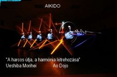 Aikido harmónia vizuálisan