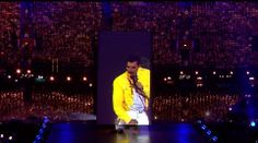 Freddy Mercury- appears for Closing Ceremony