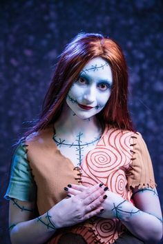 Sally from Nightmare Before Christmas cosply