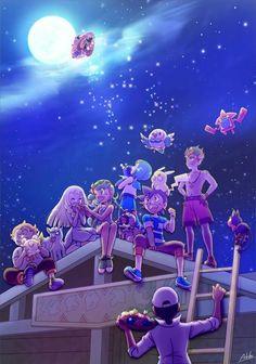 Pokemon sun and moon anime