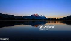 Stock Photo : blue reflection