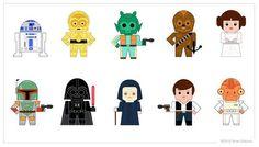 star_wars_characters__vector_by_goobeetsa-d4pnlxu-Jedi_Birthday-Anniversaire-Starwars