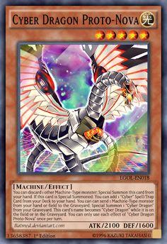 Cyber Dragon Proto-Nova by BatMed
