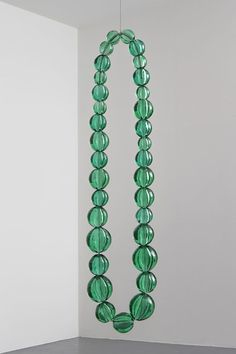 Jean-Michel Othoniel, 'Untitled (emerald necklace),' 2013, Galerie Perrotin
